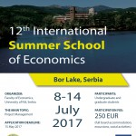 Summer School of Economics 2017