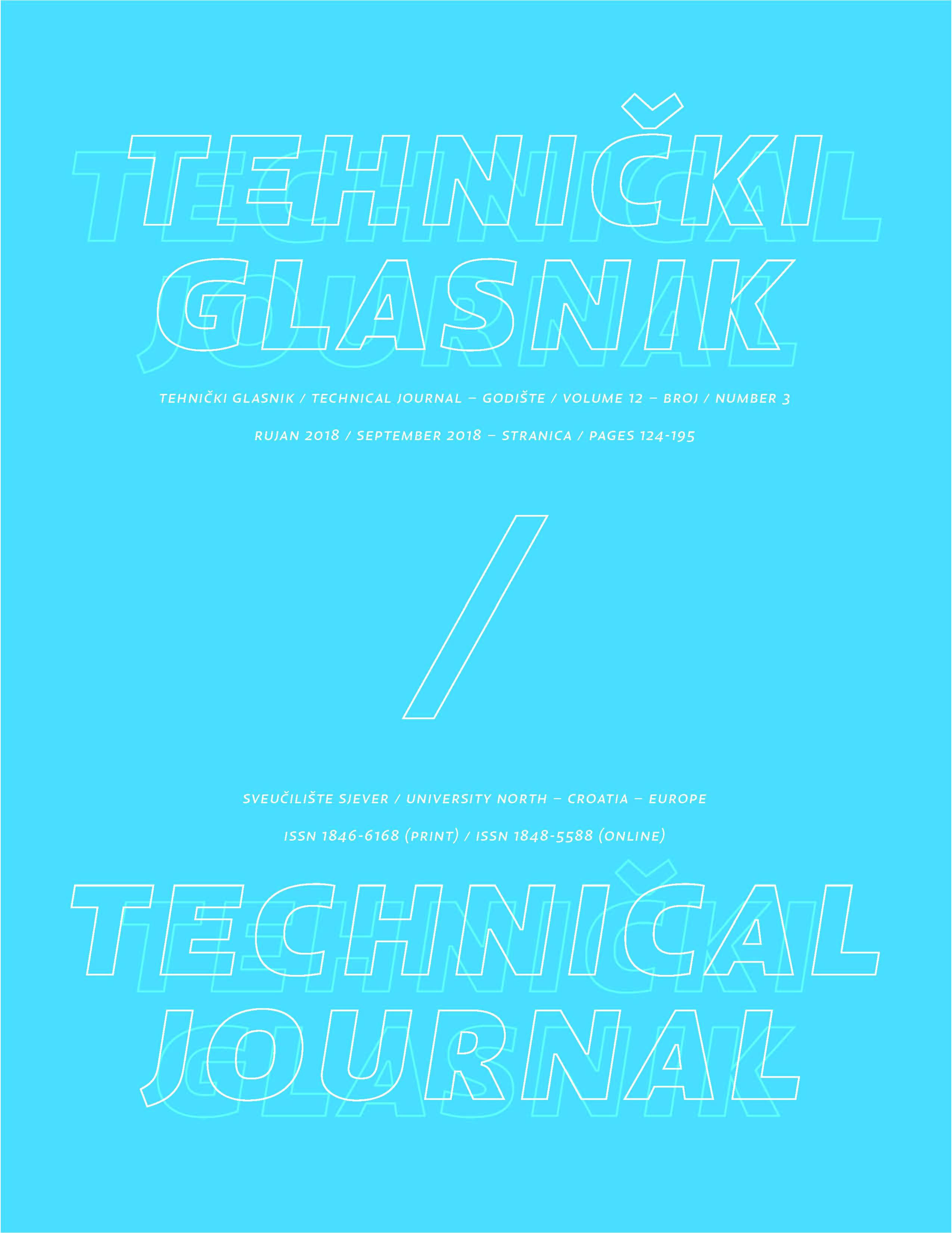 Tehnički glasnik 2/2018