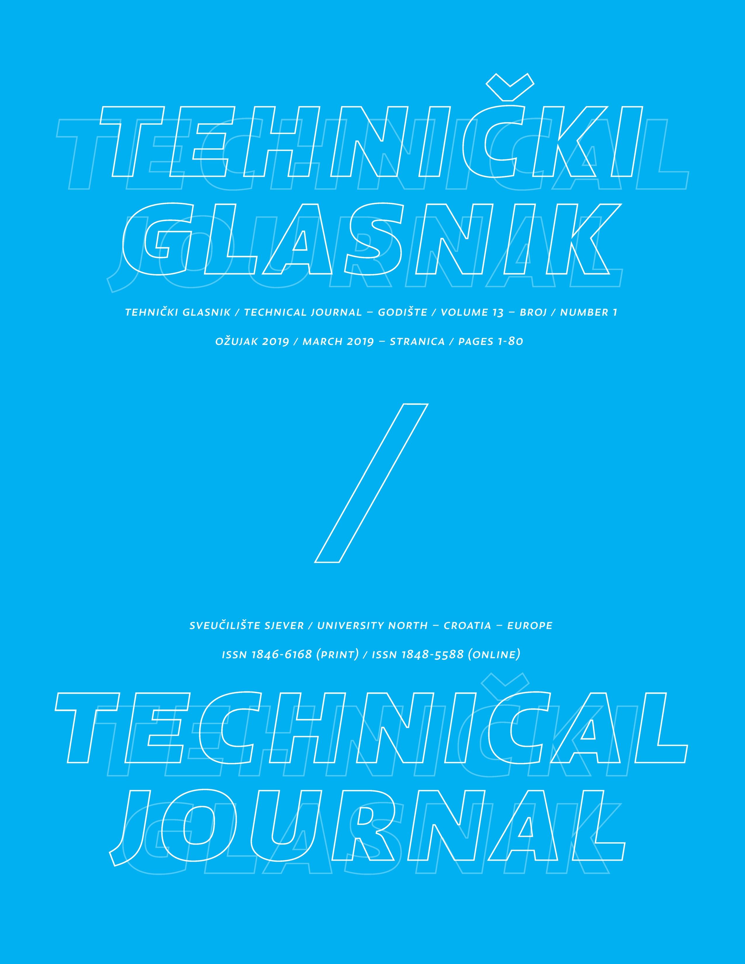 Tehnički glasnik 1/2019